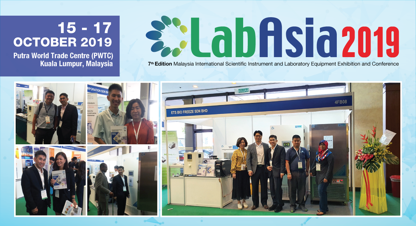 ETS Bio Freeze At LabAsia 2019
