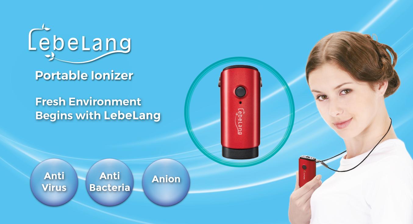 New LebeLang Portable Ionizer